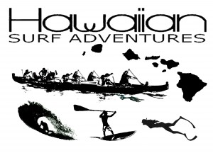 Hawaiian Surf Adventure Logo