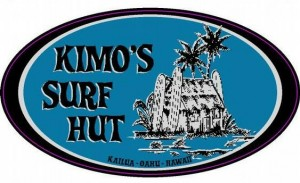 Kimos Surf Hut Logo