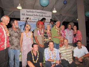Surfrider Foundation John Kelly Awards Past Winners