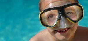 kid snorkeler