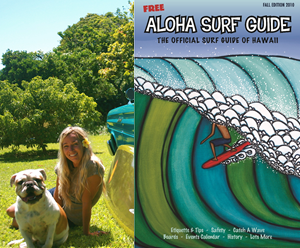 Heather Brown Aloha Surf Guide Cover