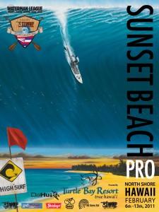 Hilton Alves SUP Contest Poster