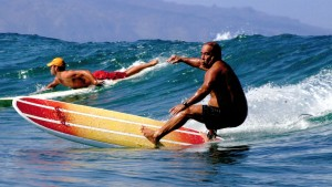 Ben aipa surfing