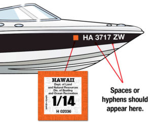 Boating HI Registration